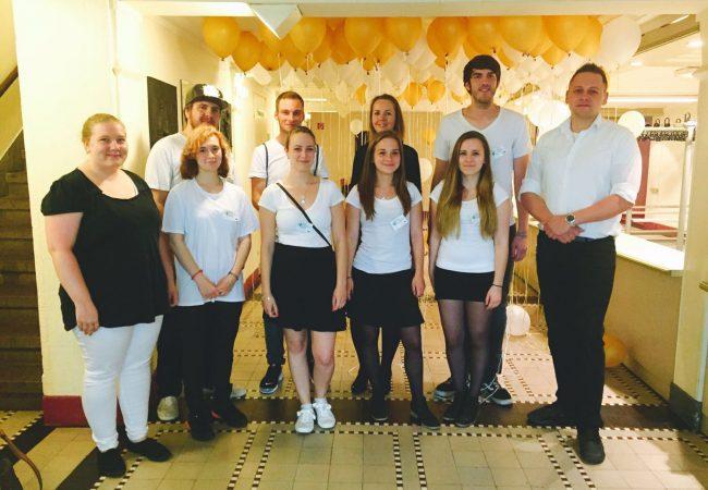 Gruppenfoto Schulsanitätsdienst