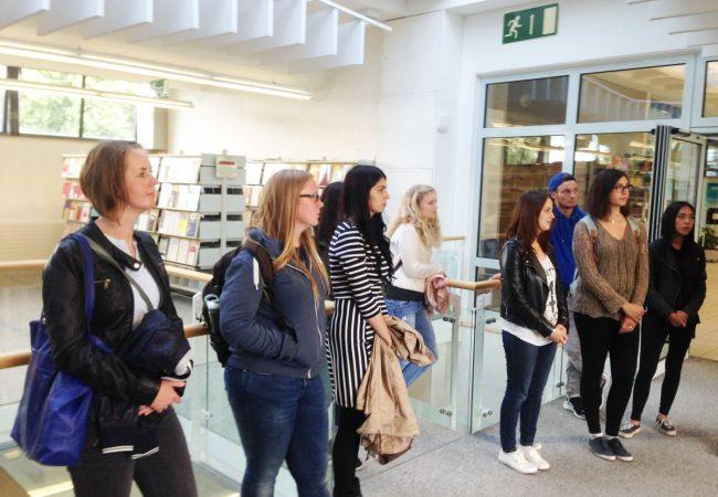 Streitschlichter AG zu Gast an der Uni Hagen