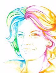 Coloration von Mildred Scheel