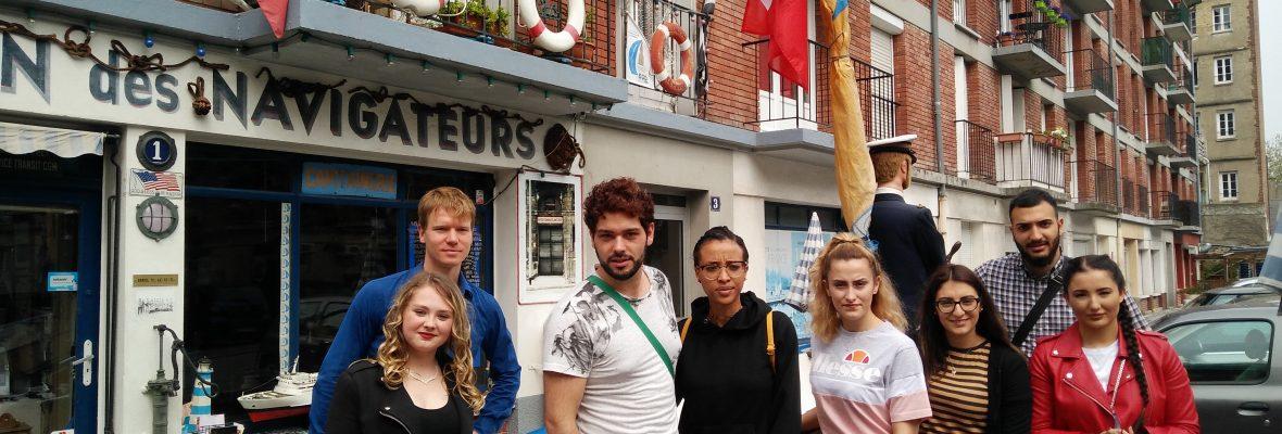 Schüleraustausch der Friseurazubis mit Le Havre, Frankreich